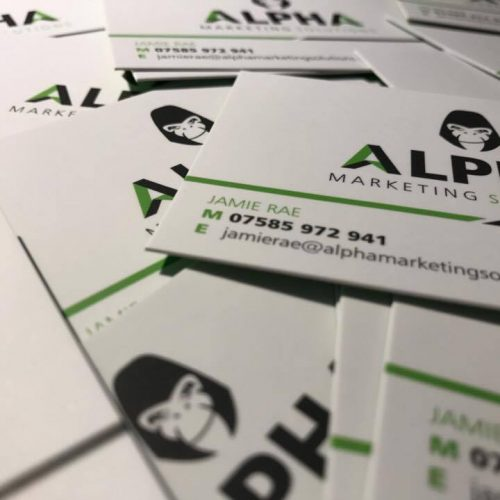 Our very own business cards!